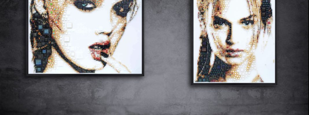 Glass portraits